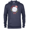 Patriotic - landing on the moon Delta French Terry Hoodie