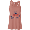 4th of July_Red White and Buzzed Bella + Canvas Flowy Racerback Tank