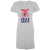 4th of July_Bomb Pops and Jello Shots 3522 LAT Ladies' V-Neck Fine Jersey Cover-Up