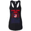 4th of July_Bomb Pops and Jello Shots Next Level Ladies Ideal Racerback Tank