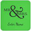 Wedding - Mr. & Mrs. Big And Symbol - Custom Coaster