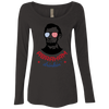 4th of July_Abraham drinkin NL6731 Next Level Ladies' Triblend LS Scoop