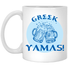 Greek Pride - Cheers! 11 oz. White Mug