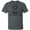 Personalized Custom Layout - Star Gildan Ultra Cotton T-Shirt