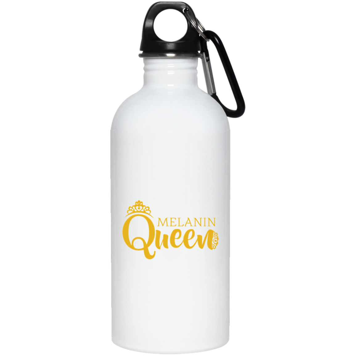African Pride - Melanin Queen 20 oz. Stainless Steel Water Bottle