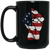 Patriotic - Flag Fist 15 oz. Black Mug