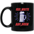 Patriotic - red white and brew 11 oz. Black Mug