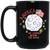 Patriotic - landing on the moon 15 oz. Black Mug