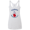 4th of July_Teddy Swolesevelt Next Level Ladies' Triblend Racerback Tank