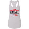 4th of July_Let's Political Party like it's 1776 Next Level Ladies Ideal Racerback Tank