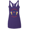 4th of July_Ronald Ragin' Next Level Ladies' Triblend Racerback Tank
