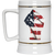 Patriotic - Flag Fist Beer Stein 22oz.