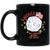 Patriotic - landing on the moon 11 oz. Black Mug