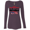 4th of July_Let's Political Party like it's 1776 NL6731 Next Level Ladies' Triblend LS Scoop