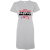 4th of July_Let's Political Party like it's 1776 3522 LAT Ladies' V-Neck Fine Jersey Cover-Up