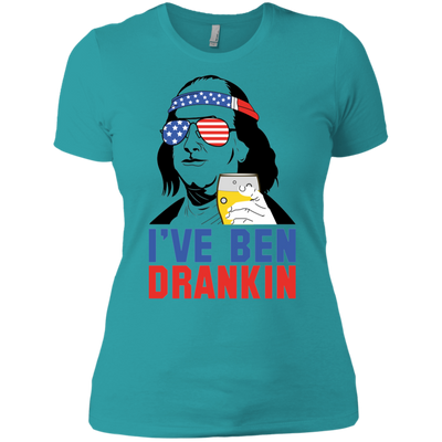 4th of July_I've been dranklin Next Level Ladies' Boyfriend T-Shirt