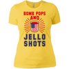 4th of July_Bomb Pops and Jello Shots Next Level Ladies' Boyfriend T-Shirt