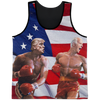 Politics - Trump and Joe Biden Rocky Punch All Over Print Tank Top