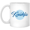 Greek Pride - Beautiful Koukla 11 oz. White Mug
