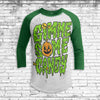 Gimme Some Candy Youth All Over Print 3/4 Sleeve Raglan