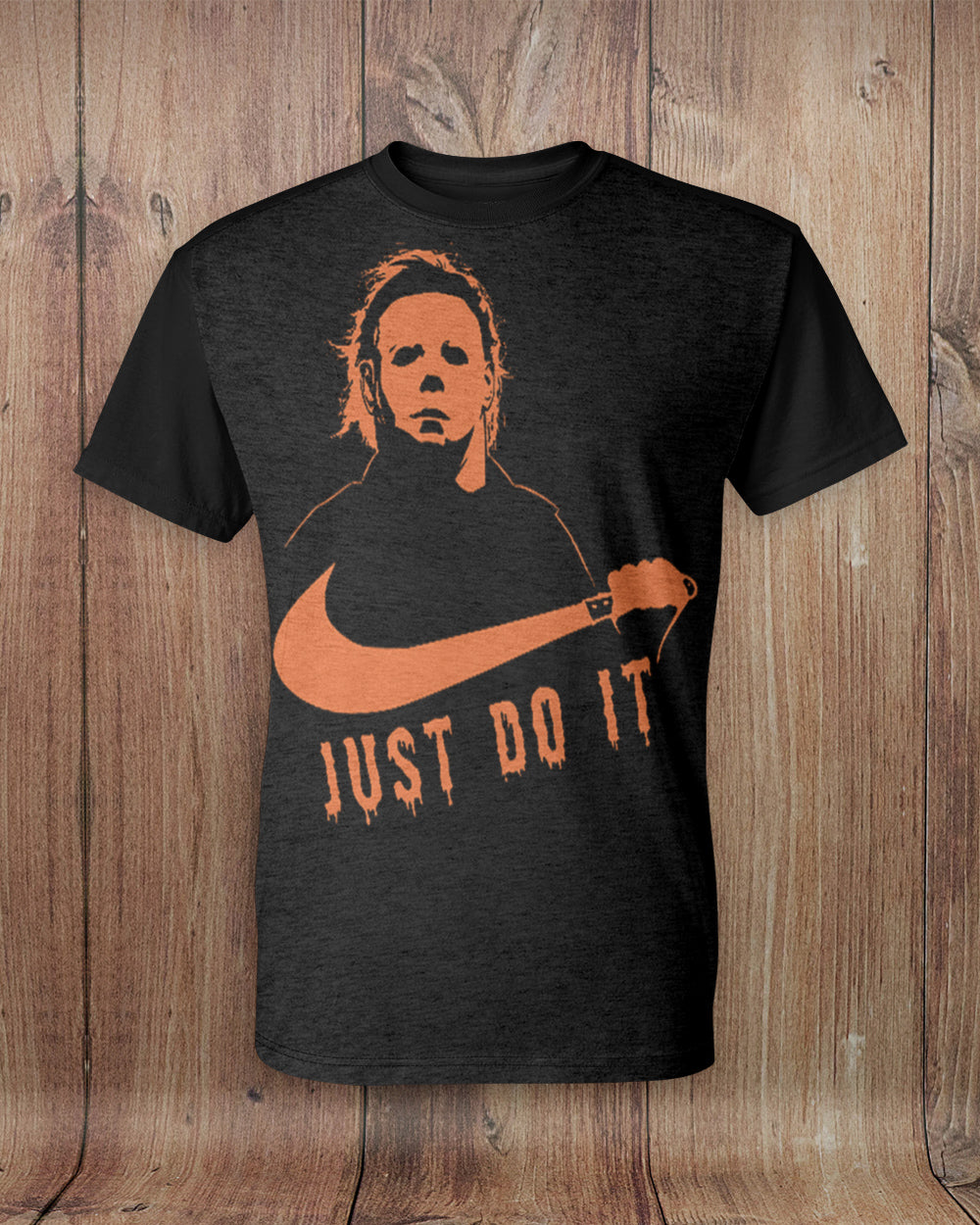 Halloween Just Do It All Over Print T-Shirt