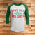 I Put Out For Santa 3/4 Sleeve Raglan - Funny Christmas Shirt