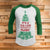 It's a Beat Clark 3/4 Sleeve Raglan - National lampoon Christmas vacation shirt