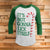 It's Not Gonna Lick Itself 3/4 Sleeve Raglan - Funny Christmas Shirt