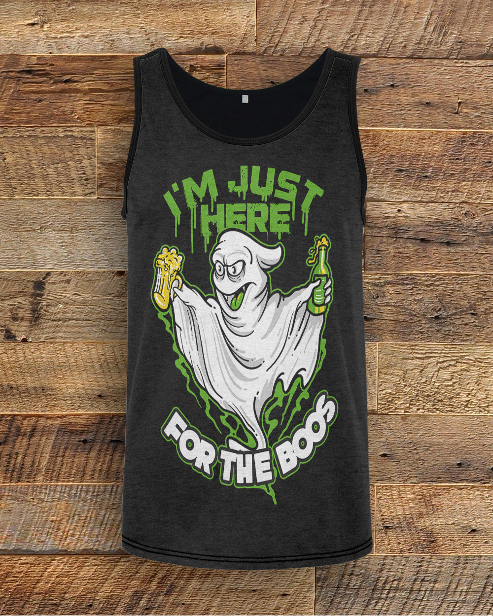 Ghost Just Here For The Boos Tank Top