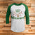 Let's Get Blitzened 3/4 Sleeve Raglan - Funny Christmas Shirt