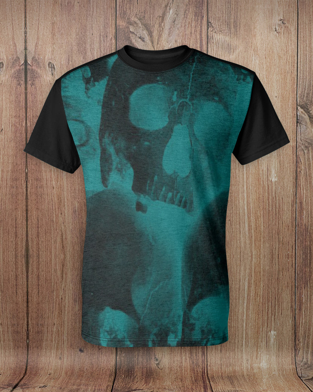 Scary Skulls All Over Print T-Shirt