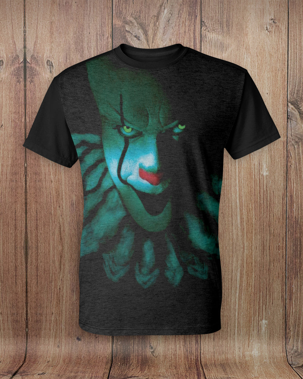 New Pennywise Face All Over Print T-Shirt