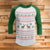 Not Too Ugly Christmas Style 3/4 Sleeve Raglan - Funny Christmas Shirt