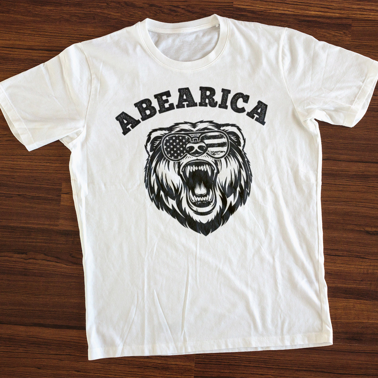 Patriotic - Abearica Gildan Ultra Cotton T-Shirt
