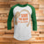 Save The Neck For Me Clark 3/4 Sleeve Raglan - National Lampoon Christmas Vacation shirt