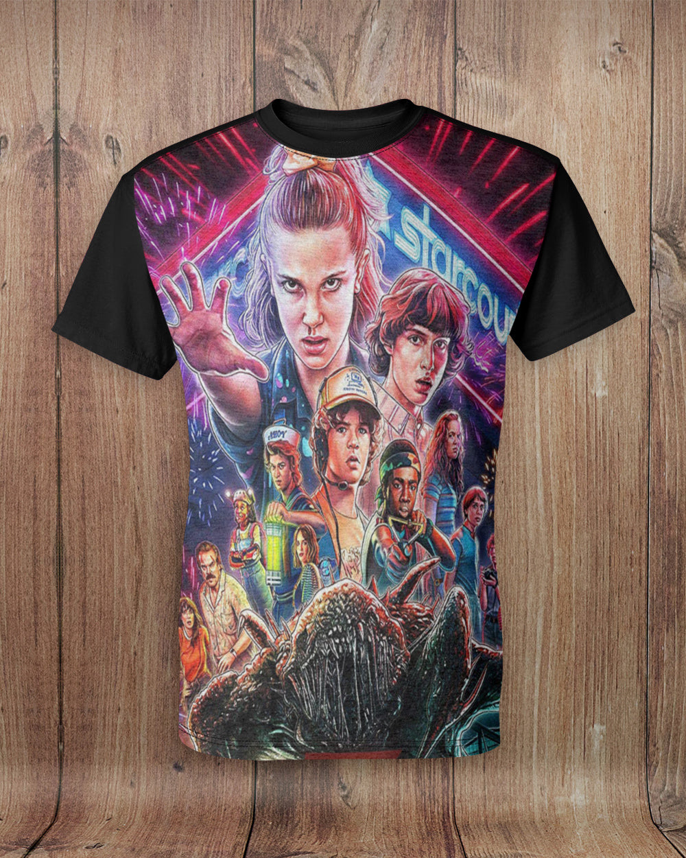 Stanger Halloween Things 3 All Over Print T-Shirt