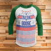 Talk To Me Goose 3/4 Sleeve Raglan - National Lampoon Christmas Vacation shirt