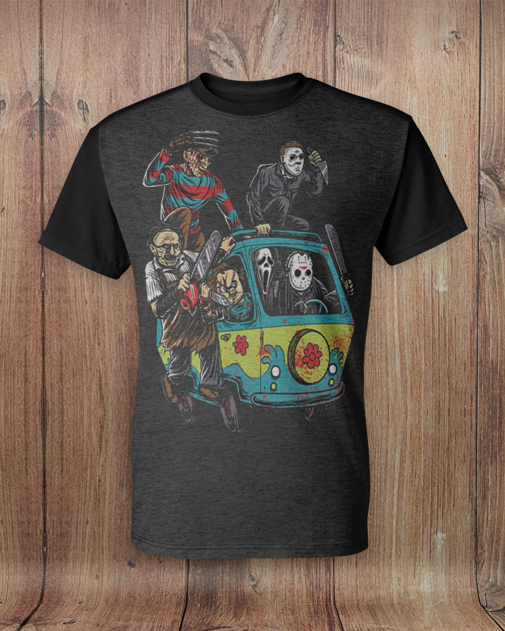 The Whole Crew All Over Print T-Shirt