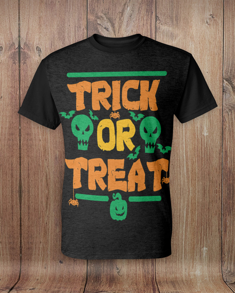 Trick or Treat All Over Print T-Shirt