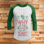 Why Is The Carpet All Wet Todd 3/4 Sleeve Raglan - National Lampoon Christmas Vacation shirt
