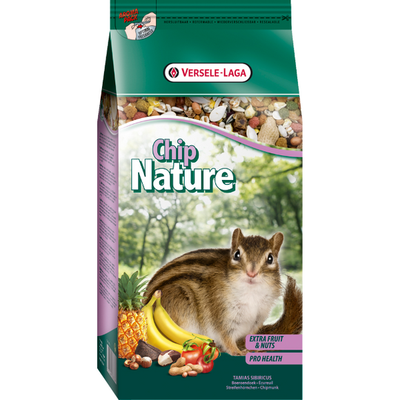 Pienso para ardillas chip nature
