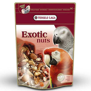 Exotic nuts snacks para loros con nueces versele laga