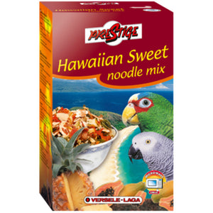 Hawaiian sweet noodle mix snacks para loros