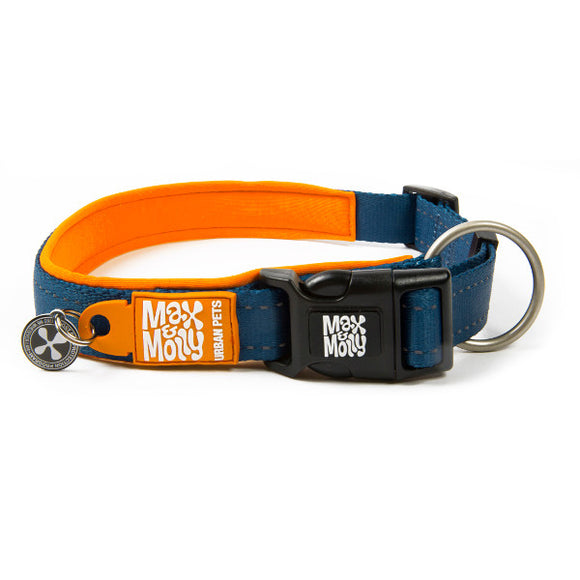 Max y Molly Collar para perros Matrix Orange