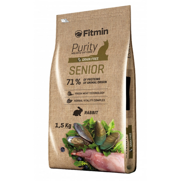 Fitmin Purity Senior Pienso para gatos Mayores