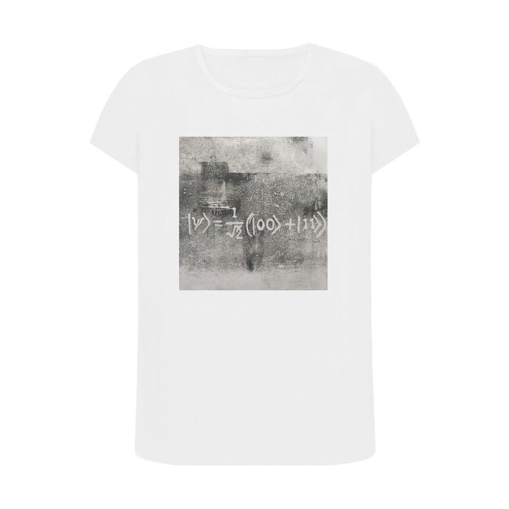 Quantum Entanglement T Shirt White