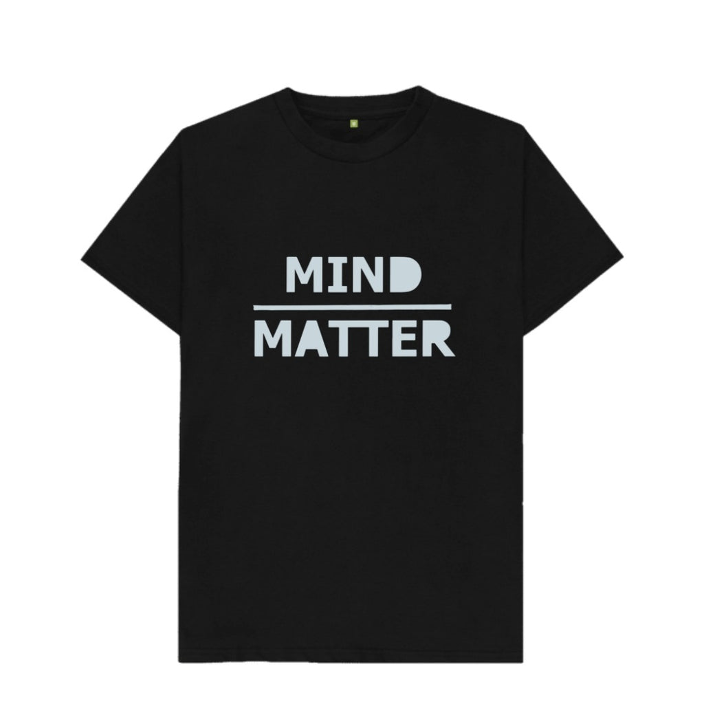 Mind Over Matter T shirt Black