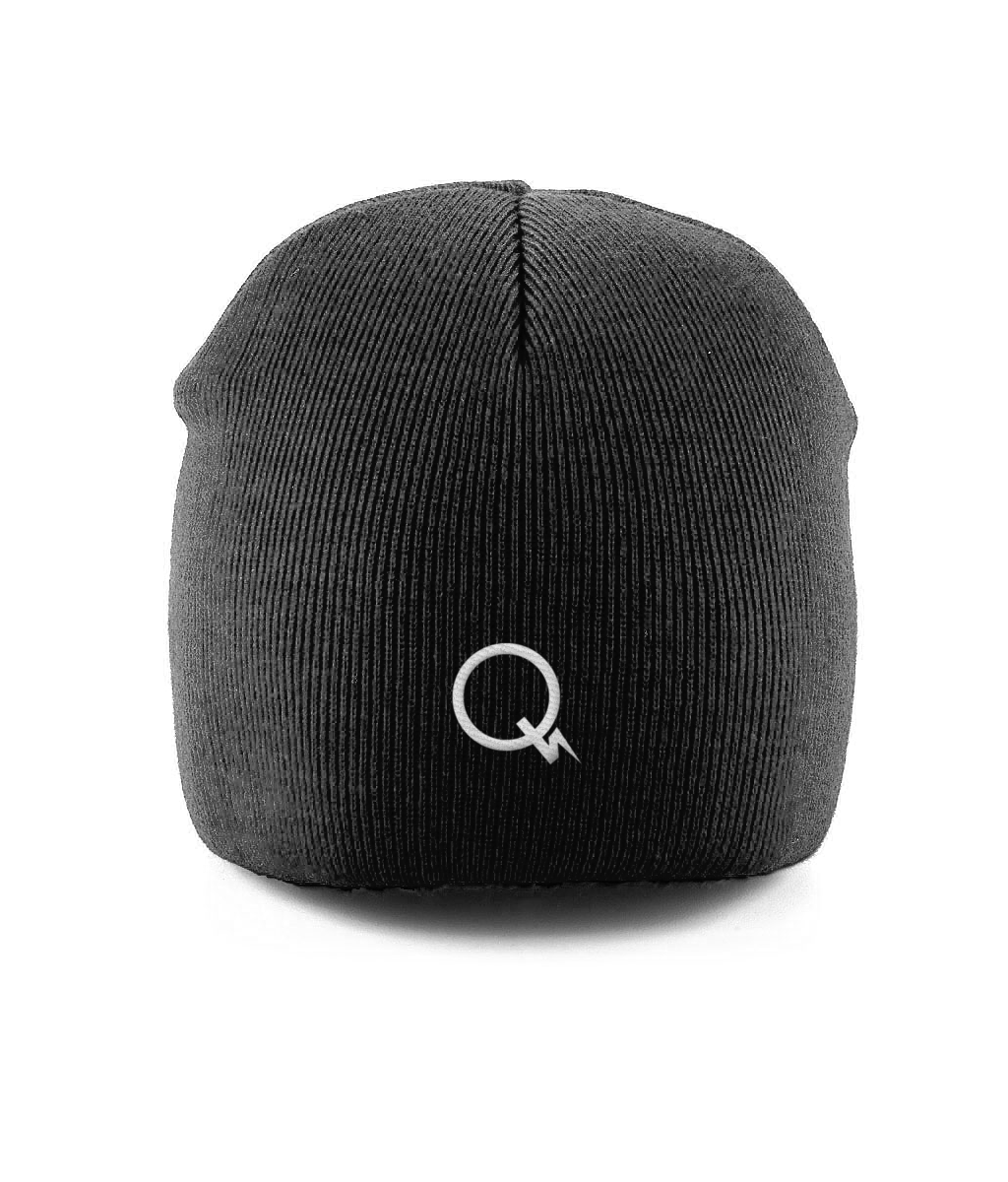 Quiet Thunder Black Beanie