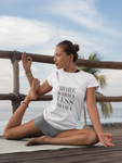 Ladies Slim Fit Organic More Karma Tee Shirt