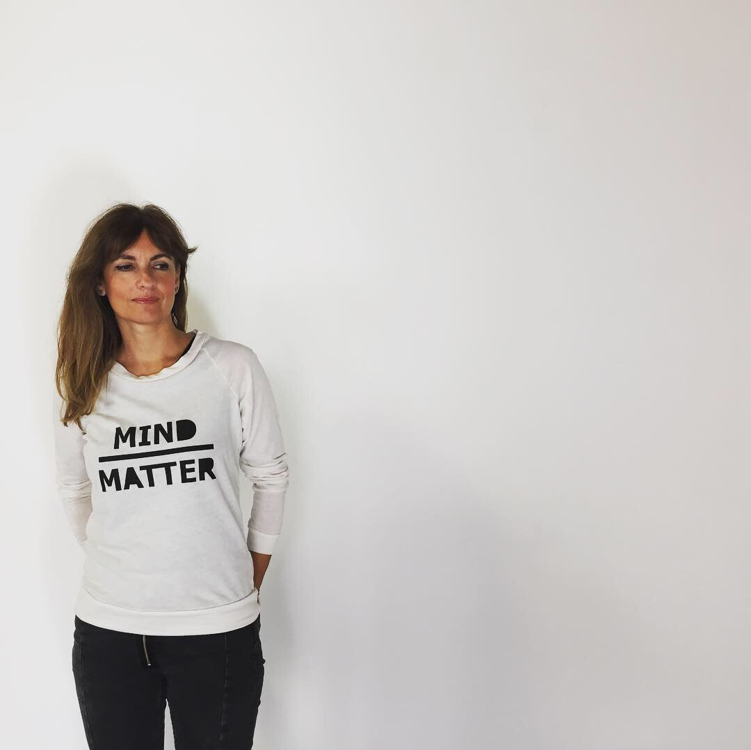 'Mind over Matter' Eco-Jersey Long Sleeved Top
